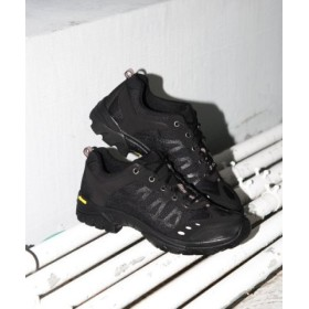(URBAN RESEARCH/アーバンリサーチ)REPRODUCTION OF FOUND RUSSIAN/M TRAINER/メンズ BLACK