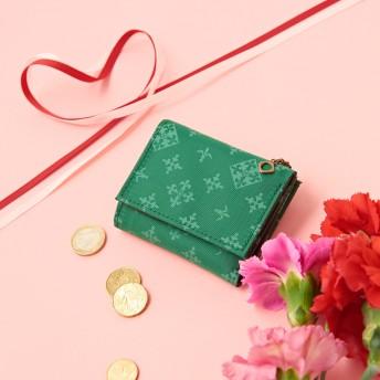 Daily russet(デイリーラシット)/三つ折りミニ財布