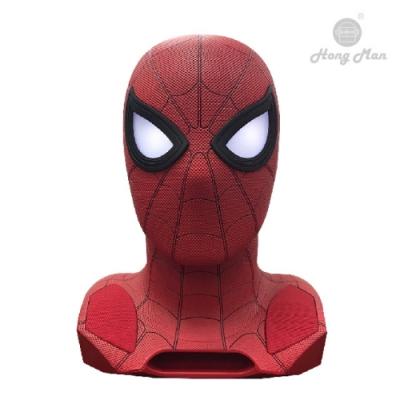 漫威正版授權 英雄風貌再現 1:1大小製作 復刻電影角色 眼部開機指示LED燈 附獨立配件 三款蜘蛛人眼罩 開啟時投射出蜘蛛人特色圖騰影像