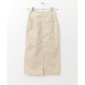 (ITEMS URBANRESEARCH/アイテムズ アーバンリサーチ)コーディロイポケットタイトスカート/レディース ECRU