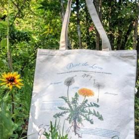 植物との暮らし/ガーデニング、ピクニック、マルシェにぴったりのキャンバストートバッグ。海外インテリアにもぴったり。