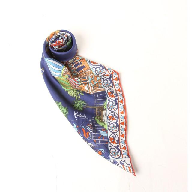 ViaggioBlu(ビアッジョブルー)/~Kinloch~ ロシアンパレススカーフ