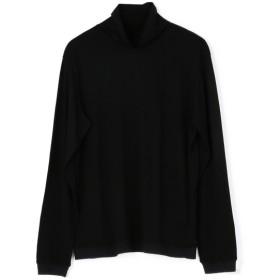 ESTNATION / REDA ACTIVE タートルネックカットソー ブラック/LARGE(エストネーション)◆メンズ Tシャツ/カットソー