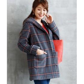 小さいサイズ フーデットコート 【小さいサイズ・小柄・プチ】コート, Coat, 大衣