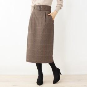 [マルイ]【セール】共地ベルト付きタイトスカート/グローブ(grove)