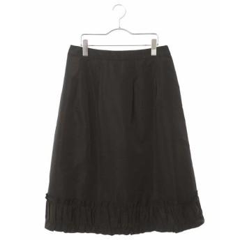 HIROKO BIS / ヒロコビス 【洗濯機で洗える】フリルギャザーミディスカート