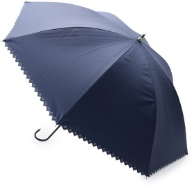 passage mignon(パサージュ ミニョン)/【UVカット99%・晴雨兼用】ピンストライプ長傘