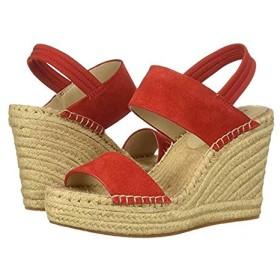 [ケネスコール ニューヨーク] レディースヒール・パンプス・靴 Olivia Simple Espadrille Fuego Suede (25.5cm) M [並行輸入品]