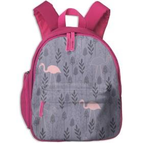 リュック 子供用 キッズ バッグ フラミンゴ 紺色 花 かわいい 保育園 幼稚園 リュックサック 通園 入園 入学 低学年 軽量 おしゃれ 中学生 男の子 女の子 遠足 お祝い 迷子防止 ピンク ネイビー プレゼント 個性 BOLACO