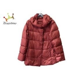 ドゥクラッセ DoCLASSE ダウンジャケット サイズM レディース 美品 ボルドー 冬物 新着 20190921