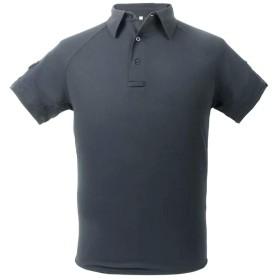 PTS アドバンスド タクティカル ポロシャツ 半袖 Mサイズ グレー