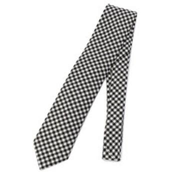 【SHIPS:スーツ・ネクタイ】BREUER: ウール モノトーン タータン チェック ネクタイ