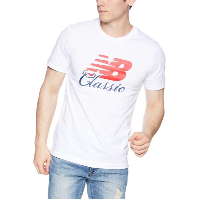 [ニューバランス] Tシャツ エッセンシャルブリッジT WT(ホワイト) 日本 S (日本サイズS相当)
