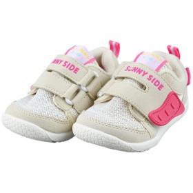 [12.5~14.5cm]シンプルフリー 履かせやすいシューズ ベージュ シューズ・ファッション小物 ベビーシューズ(~14.5cm) (66)