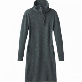 プラーナ Prana レディース ワンピース ワンピース・ドレス sunrise dress Grey Blue
