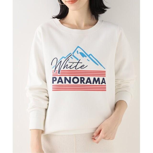 SLOBE IENA 【FRENCH DISORDER】 WHITH PANORAMAスウェット ナチュラル フリー