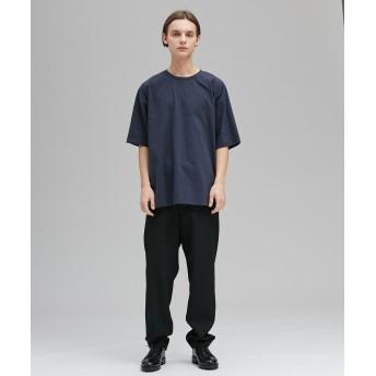 ATON(エイトン)/【UNISEX】NUBUCK COTTON OVER-SIZED Tシャツ