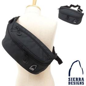 シェラデザイン SIERRA DESIGNS 斜め掛け 7L ヒップバッグ ウェストバッグ ボディバッグ ファニー シエラデザインズ BLACK SDW-220 FW19 メール便対応
