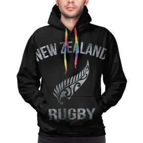 New Zealand Rugby ニュージーランドラグビー メンズ おしゃれ 長袖 パーカー スウェット 快適 ファッション 春秋冬 ポケット付き S-3XL