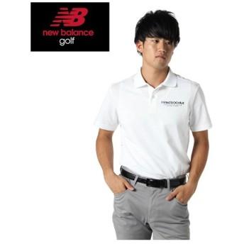 ニューバランス ゴルフウェア ポロシャツ 半袖 メンズ レオパード柄 012-9260004 new balance