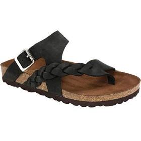[ホワイトマウンテン] レディース サンダル Hamilton Braided Toe Loop Sandal [並行輸入品]
