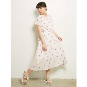 【メリージェニー/merry jenny】 初夏のブーケシャツワンピース