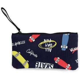 Dude Super Cool Skate NUBOMINI 小銭入れ 化粧品収納 財布 可愛いポーチ アクセサリー収納袋 大容量 ポーチ