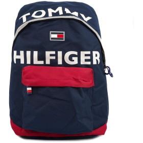 [トミー ヒルフィガー]TOMMY HILFIGER バッグパック TC980H09 TH-812 HOLLIS 男女兼用 NAVY/RED [並行輸入品]