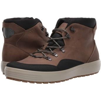 [エコー] メンズブーツ・靴 Soft 7 Tred Terrain GORE-TEX Mid Black/Navajo Brown EU43 (US Men's 9-9.5) (27-27.5cm) D - Medium [並行輸入品]