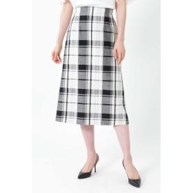 NATURAL BEAUTY(ナチュラルビューティー)/◆[WEB限定商品]ビッグチェックロングタイトスカート
