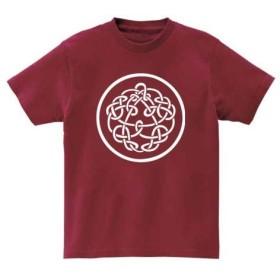 [10色]BANDLINE(バンドライン) King Crimson キング クリムゾン バンド ロック パンク メタル 半袖Tシャツ バーガンディ Lサイズ