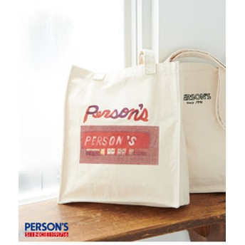【ROPE' PICNIC:バッグ】【PERSON'S×ROPE' PICNIC】グラフィックプリントトートバッグ