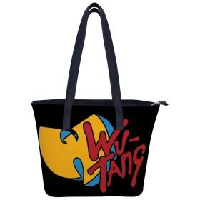 ウータン クラン Wu Tang Clanハンドバッグレディースショルダーバッグレザーハンドバッグ大容量軽量ハンドバッグ旅行学校通勤ショッピングファッションショルダーバッグ