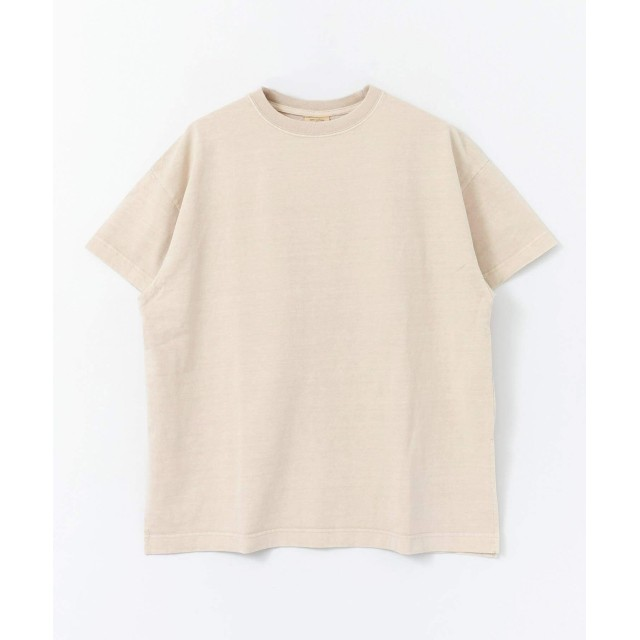 [センスオブプレイス] tシャツ (別注)Good wear ピグメントTシャツ レディース GREIGE FREE
