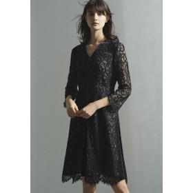 EPOCA コードリバーレースドレス ワンピース,ブラック