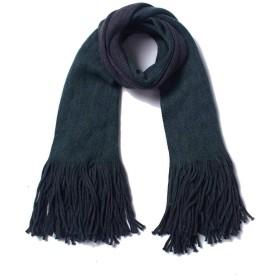 タッセル特大スカーフ付き女性チェック柄ロングスカーフ冬暖かいタータンラップショール195×55 cm #R04 (色 : 6, サイズ : 195CM)