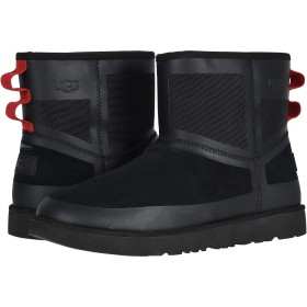 [アグ] メンズブーツ・靴 Classic Mini Urban Tech WP Black TNL 15 (33.cm) D - Medium [並行輸入品]