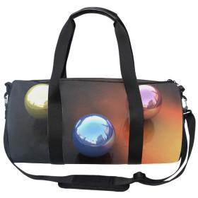 防水 軽量 ボール抽象スポーツ ボストン バッグ 2way バック パック 旅行 リュック 登山 アウトドア フィットネス ジム 折式 カバン メンズ レディース