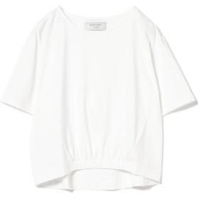[ビームスライツ] Tシャツ 手洗い可能 フロント裾ゴム プルオーバー レディース ホワイト ONE SIZE