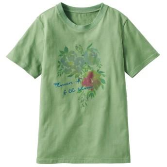 50%OFF【レディース】 プリントTシャツ(S-5L・綿100%) - セシール ■カラー:H ■サイズ:S