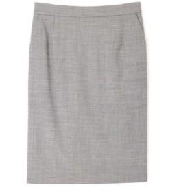 BOSCH / ボッシュ シルクウールギャバストレッチセットアップスカート
