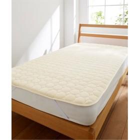 ふわっととろけるマイヤー敷パッド(抗菌防臭加工わた入) 敷きパッド・ベッドパッド