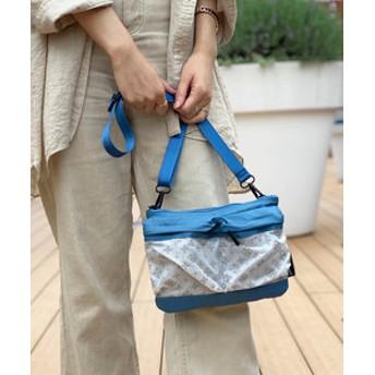 【Daily russet:バッグ】裏張りナイロンリップショルダーバッグ