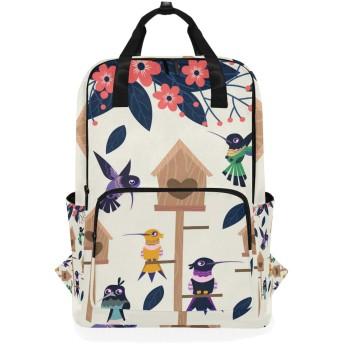 喜びキツツキ鳥のための肩のバックパックの学生の軽量のおむつ袋旅行余暇子供の女の子の男の子