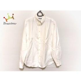 エンポリオアルマーニ EMPORIOARMANI 長袖シャツ サイズ50 M メンズ 白 新着 20190920