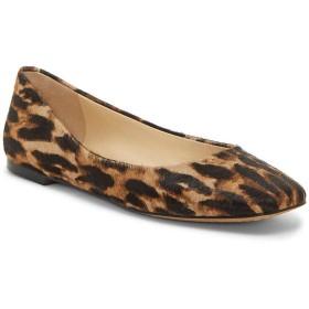 [ヴィンスカムート] レディース サンダル Bicanna3 Leopard Print Calf Hair Flats [並行輸入品]