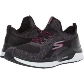 [スケッチャーズ] レディーススニーカー・ウォーキングシューズ・靴 Go Run Steady Black/Hot Pink 11 (28cm) B [並行輸入品]