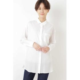 【ヒューマンウーマン/HUMAN WOMAN】 テンセルスイスコットンローンシャツ