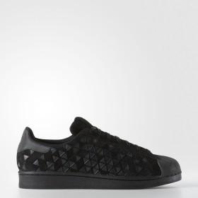 (アディダス) adidas Superstar Shoes Core Black / Black / Black (AQ8184) ( Size US 10.5 ) メンズシューズ 【並行輸入品】