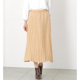 【ミューズ リファインド クローズ/MEW'S REFINED CLOTHES】 サテンプリーツスカート